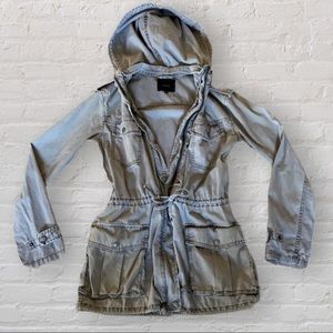 Aritzia Talula grey Trooper Jacket